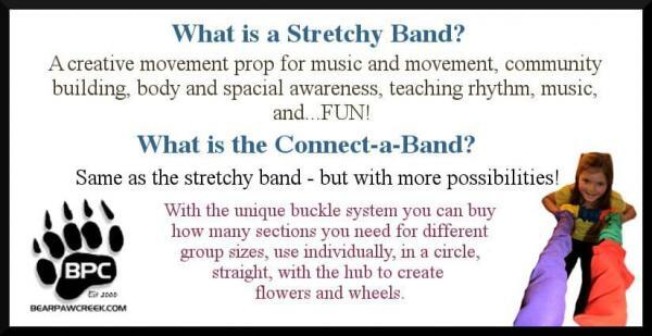 Bear Paw Creek Best Selling Stretchy Band Music Movement Prop - What Is A Stretchy Band