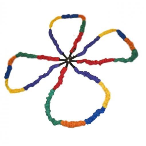 Top Creative Movement Products Community Building Eldercare Connect-a-Stretchy Band With Hub 8 Music Therapists