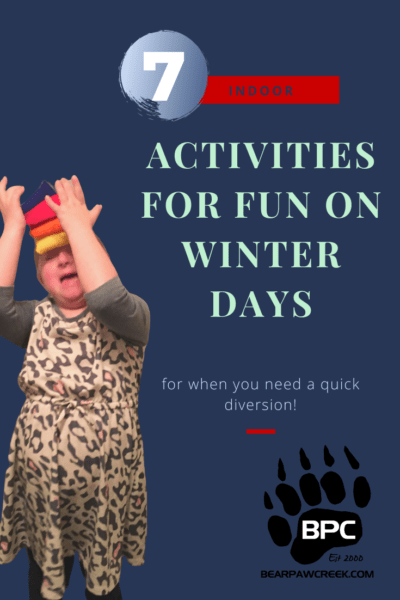7 Indoor Activities For Fun On Winter Days
