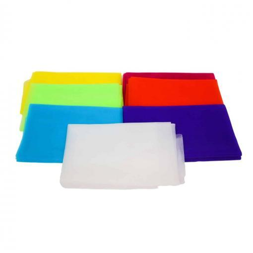 Best Dance Games Discover Dance 25 inch Colorful Square Creative Movement Scarves Children's Ministry