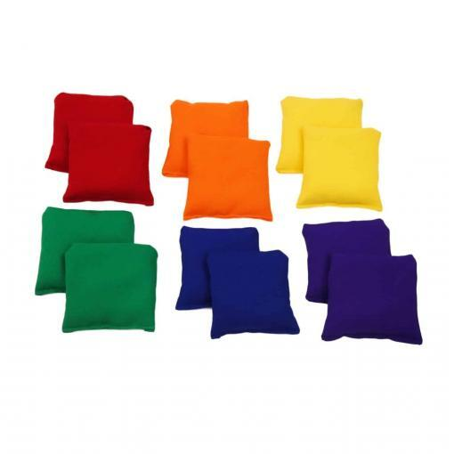 Top Creative Movement Products Music Therapy Four Inch Square Bean Bags in Six Colors