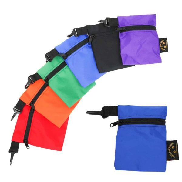 Unique Zipperd Pouch Clip On Pack Organize Backpack Day Hike