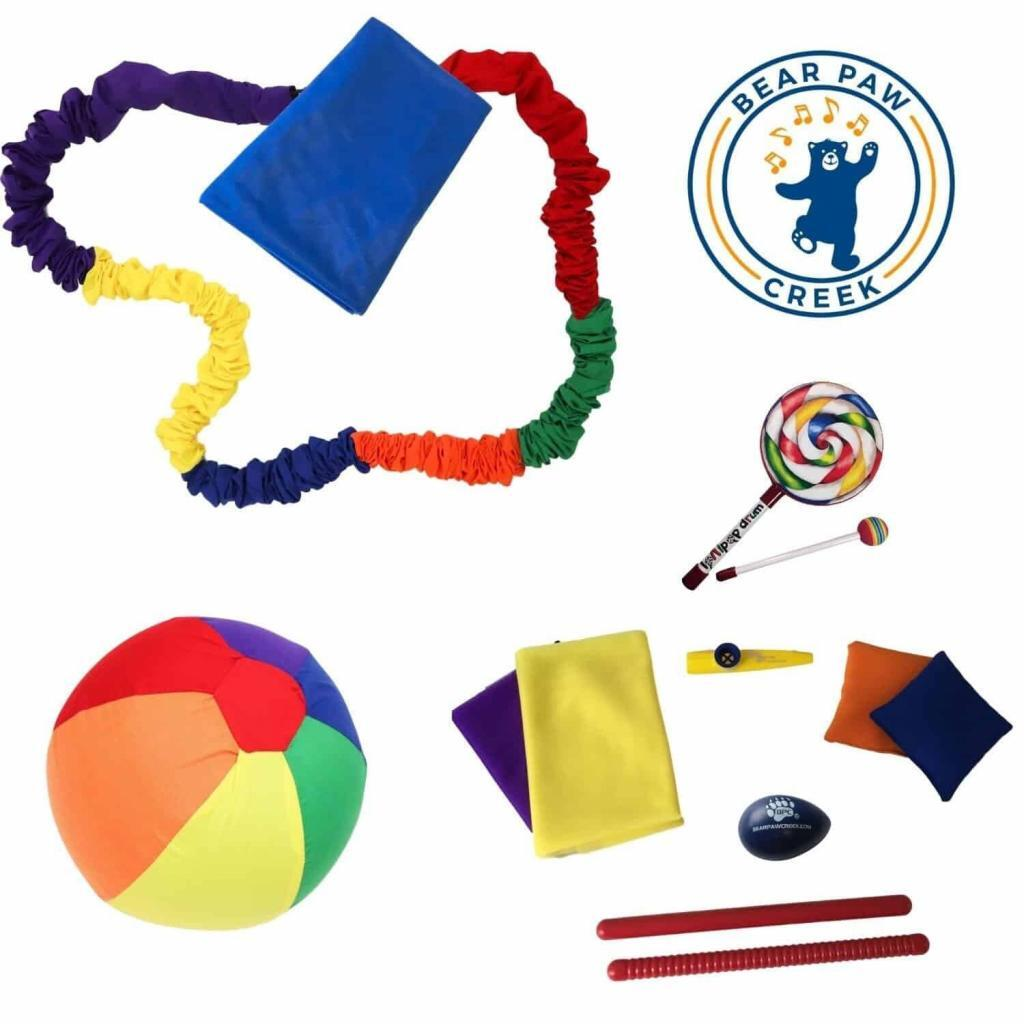 Unique Music Therapy Props Distance Learning Children's Librarians Music With Mar Deluxe Manipulative Music Learning Invidual Kit Parents